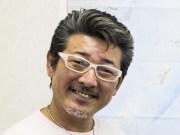 車が趣味という俳優の布川敏和さん(元シブがき隊)が経済誌リーダーズ・アイのゲストインタビュアーとして取材に来社された際のアップ